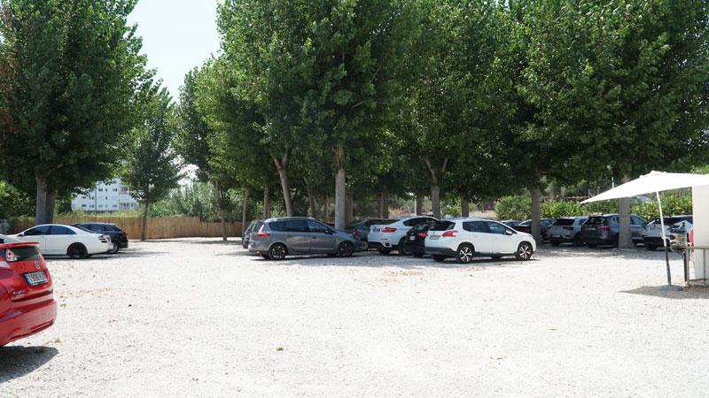 parking el chiringuito de altea